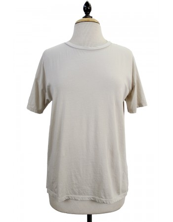 Soft Cotton Jersey Basic Crew Neck