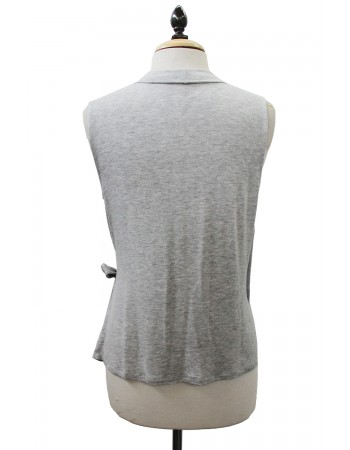 Lightweight Knit Wrap Vest