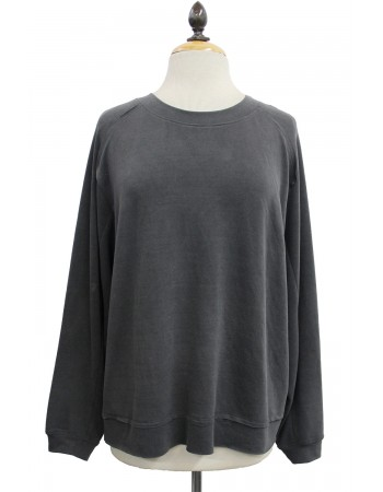 French Terry Oversize Sweatshirt