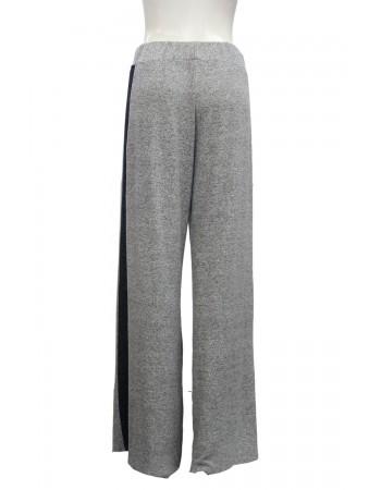 Cozy Colorblock Wide Leg Pants