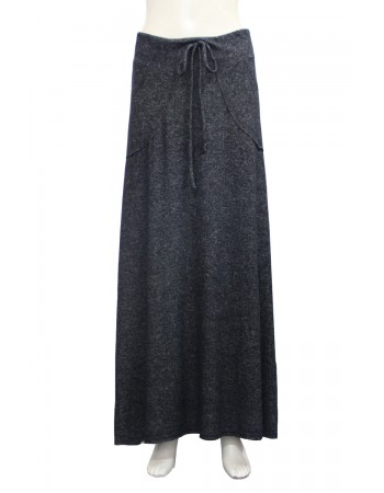 Cozy Knit Cargo Pocket Maxi