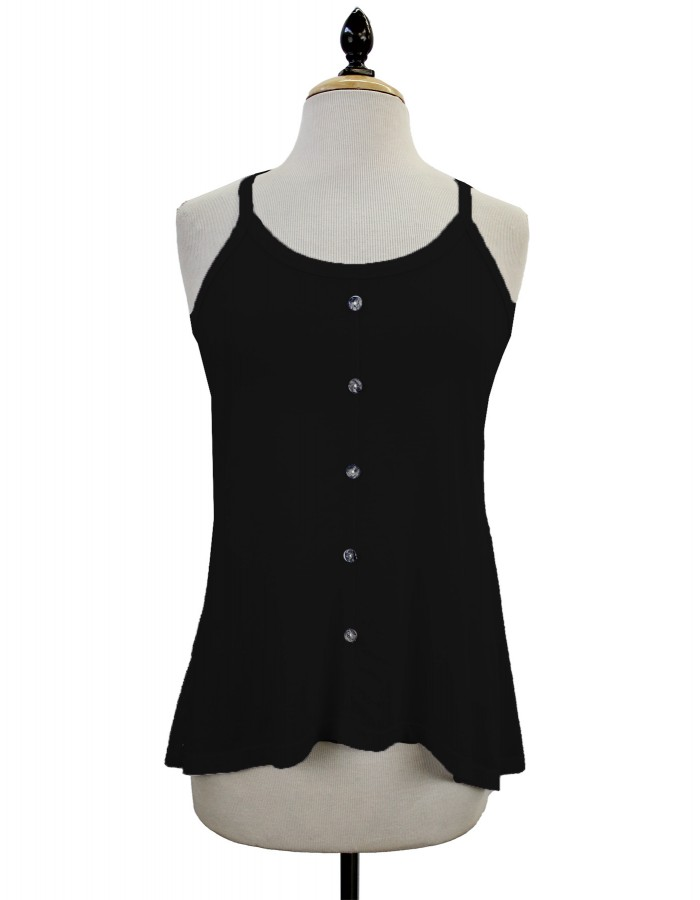 Button Cami Tank