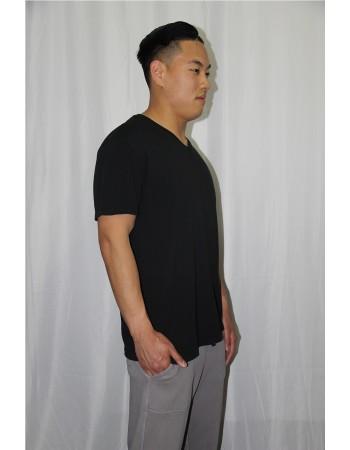 Short Sleeve V Neck Tee