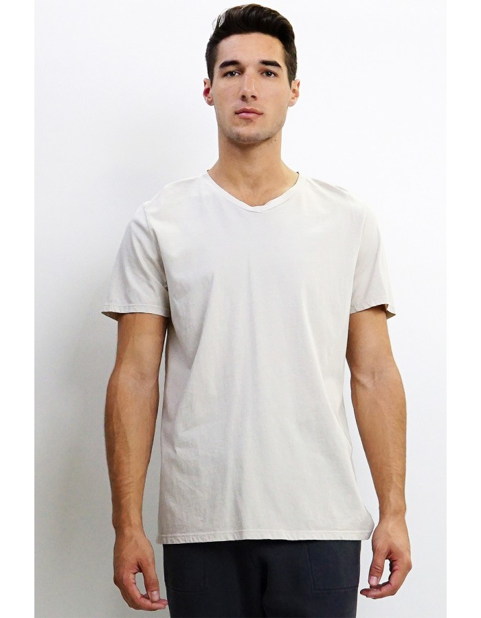 Premium Cotton V-Neck Tee