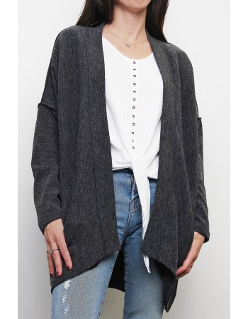 Cocoon Cardigan Sweater Knit