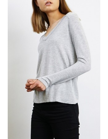 Rayon French Terry Reverse Stitch Top
