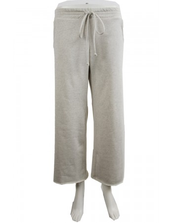Organic French Terry Cropped Pants