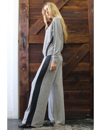 Cozy Knit Hook and Eye Pullover