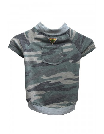 Camo French Terry Tee