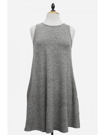 Cozy Knit Swing Dress