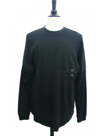 Long Sleeve Seamed Sweatshirt