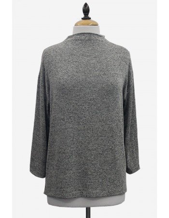 Intermingle Wide Funnel Neck Dolman