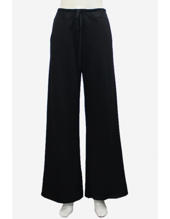 French Terry Wide Leg Pants