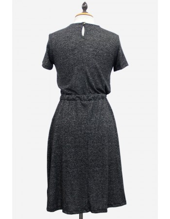 Ultra Soft Button Back Pocket Dress