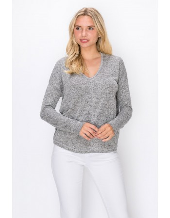 Intermingle V-Neck Dolman