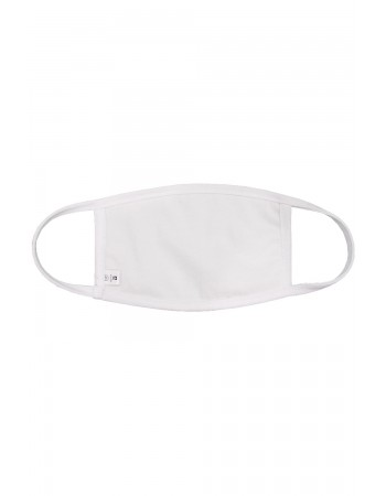 Chambray Jersey White Mask -2PC PACK