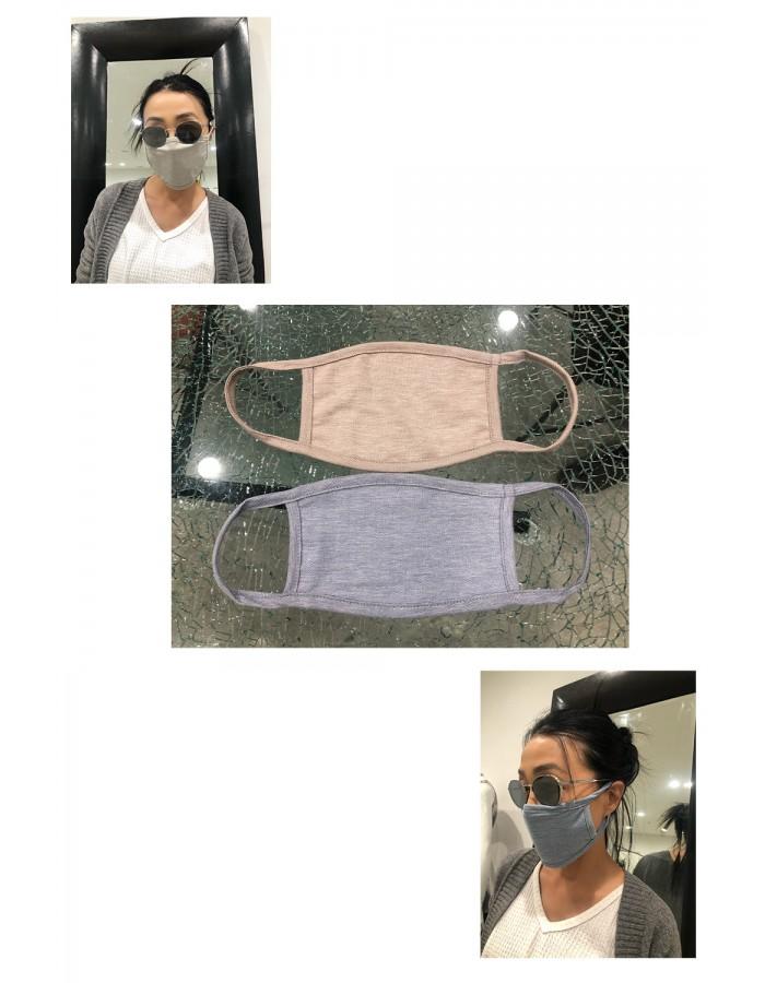 Chambray Jersey Mask -2PC PACK