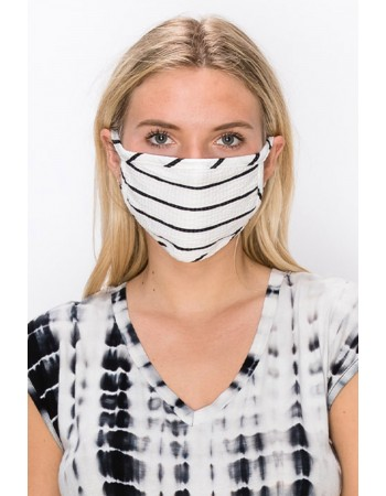 Basic Stripe Mask -3PC COLOR PACK