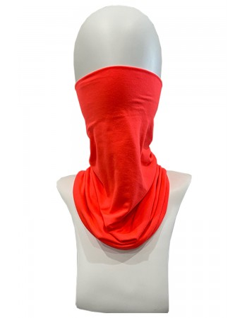 Neon Gaiter Face Cover - ORANGE
