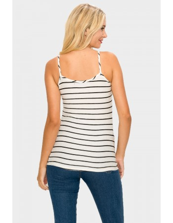 Stripe Basic Tank