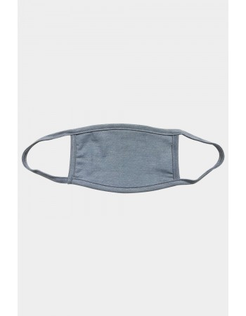 Chambray Jersey Mask - Denim