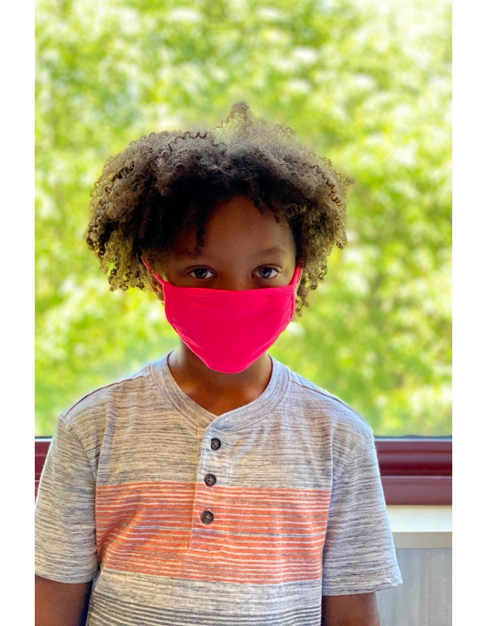 Neon Jersey Kids Mask HTP