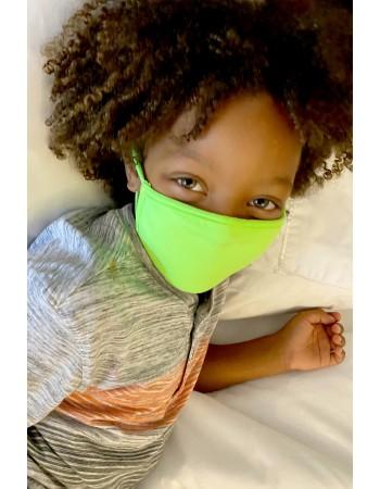 Neon Jersey Kids Mask LIM