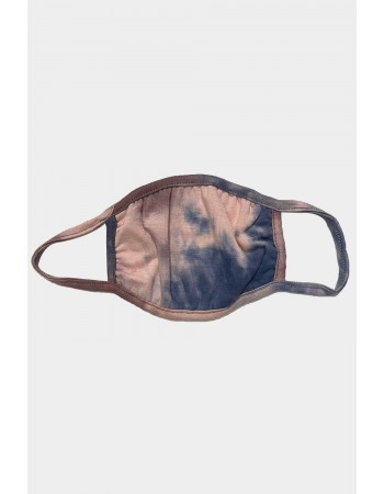 Kids Tie Dye Mask - Coffee Multi