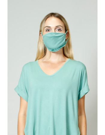Rayon Mask - Dusty Green