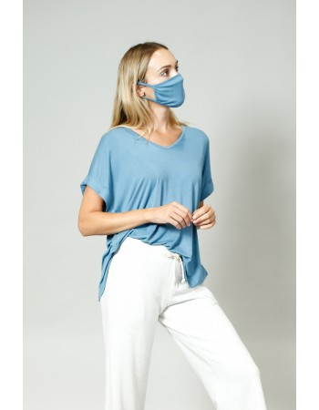 Rayon Mask - Denim