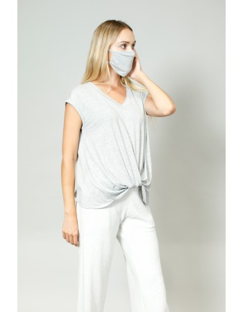 Rayon Mask -  Heather Grey
