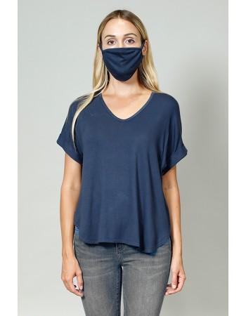 Rayon Mask - Navy