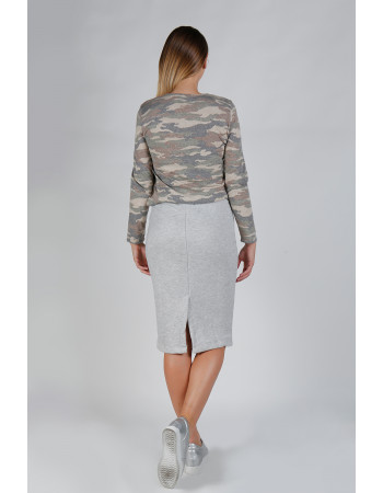 CAMO Q-BLEND BASIC LONG SLEEVE