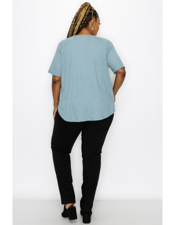 THERMAL SWING TEE - MINERAL BLUE