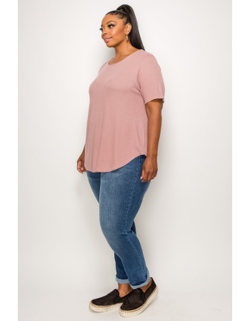 THERMAL SWING TEE - MAUVE PALE