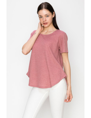 THERMAL SWING TEE - MAUVE
