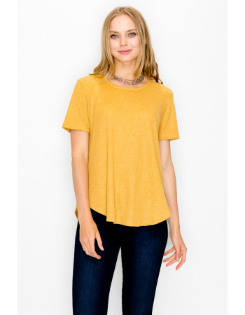 THERMAL SWING TEE - MUSTARD