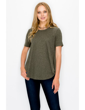 THERMAL SWING TEE - OLIVE
