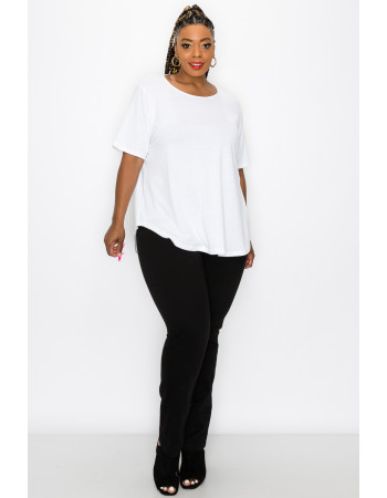SOLID Q-BLEND SWING TEE CURVE - OFF WHITE
