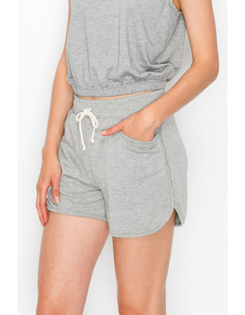 FRENCH TERRY POCKET SHORTS