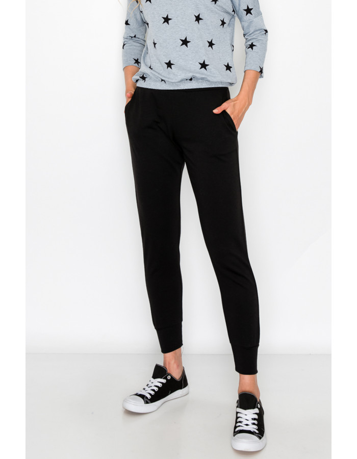 FRENCH TERRY SIDE & BACK POCKET JOGGER