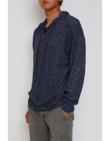 Cozy Knit Pullover Hoodie